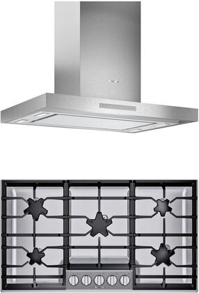 Thermador  1071288 Kitchen Appliance Package Stainless Steel, main image