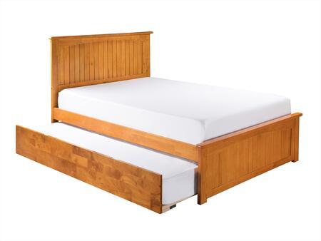 Atlantic Furniture Nantucket AR8236017 Bed Brown, AR8236017 SILO MO 180