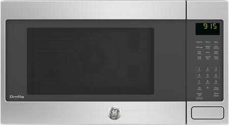 GE Profile  PEB9159SJSS Countertop Microwave Stainless Steel, Front