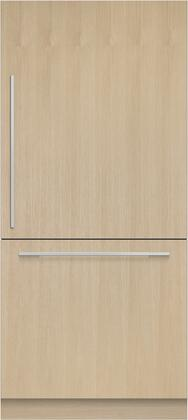 Fisher Paykel  RS36W80RJ1N Bottom Freezer Refrigerator Panel Ready, Front View