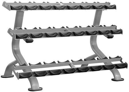 Element Fitness  E4972 Dumbbell Rack Silver, Main Image