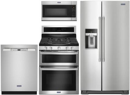 Maytag  1009977 Kitchen Appliance Package Stainless Steel, Main Image