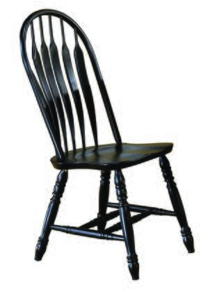 Sunset Trading Sunset Selections DLU4130AB2 Dining Room Chair Black, DLU 4130 AB 2