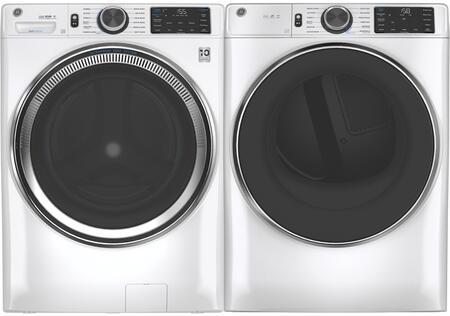 GE  1333044 Washer & Dryer Set White, 1
