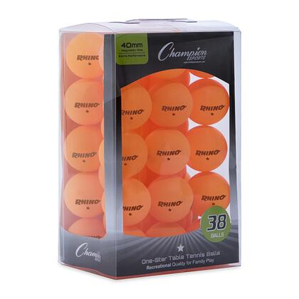 Champion Sports  1STR38OR Table Tennis Ball , 1STR38OR Main Image