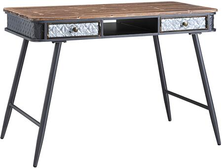 4D Concepts Forester 184023 Desk Gray, 184023 side