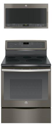 GE Profile 683914 Kitchen Appliance Package & Bundle Slate, main image