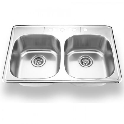 Yosemite YHD Sinks - Stainless Steel MAG3322D Sink, Main Image