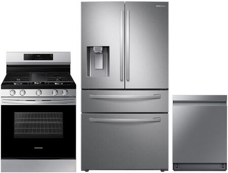 Samsung  1075444 Kitchen Appliance Package Stainless Steel, main image