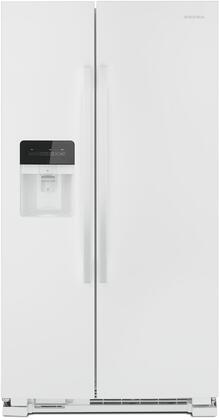 Amana  ASI2175GRW Side-By-Side Refrigerator White, Main Image