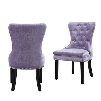 Chic Home Dining Chair Fdc2934ac Purple, Purple Dining Room Chairs