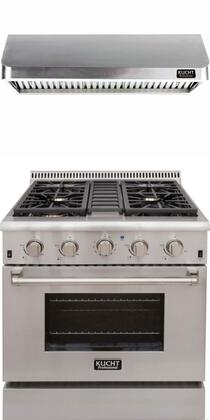 Kucht Professional 721907 Kitchen Appliance Package Stainless Steel, Main Image
