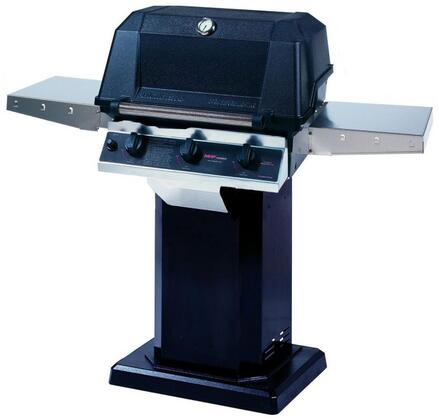 27″ Freestanding Liquid Propane Grill Head with Cart 574 sq. inches Total Cooking Area  2 Cast Stainless Steel Burner  1 Infrared Burner  48000 BTU