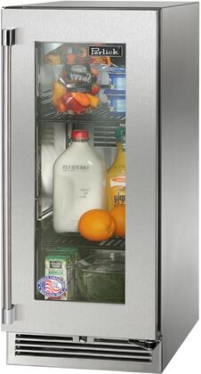 Perlick Signature HP15RS43RL Compact Refrigerator Stainless Steel, Main Image