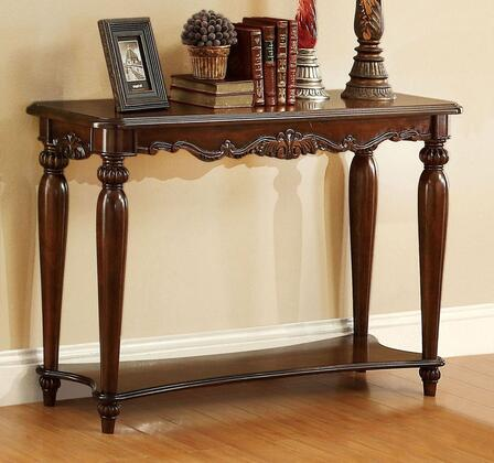 Furniture of America Bunbury CM4915S Sofa Table Brown, Main Image
