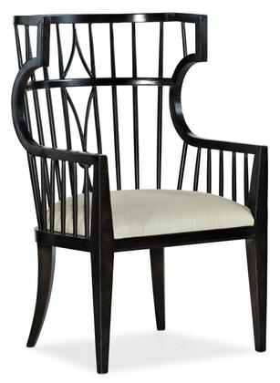 Hooker Furniture Sanctuary 2 58457570099 Dining Room Chair Beige, Silo Image