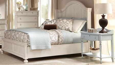 American Woodcrafters Newport 3710 66pbs Ns 2 Piece Bedroom Sets With King Storage Bed And Nightstand In Antique Birch Appliances Connection