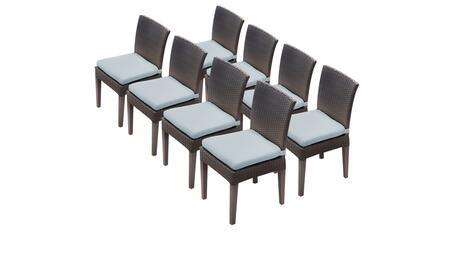 TK Classics BARBADOSTKC090BADC4XCSPA Patio Chair, BARBADOS TKC090b ADC 4x C SPA