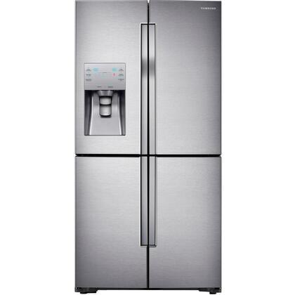 Samsung RF28K9070 French Door Refrigerator, In Black Stainless Steel