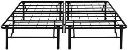 Dream Support  DS14BLACKCK Stationary Bed Frames Black, Main Image
