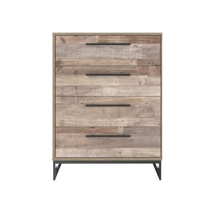 Signature Design by Ashley Neilsville EB2320144 Chest of Drawer Natural, EB2320 144 HEAD ON SW