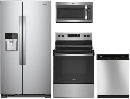 Whirlpool  1137572 Kitchen Appliance Package Stainless Steel, main image