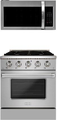 Forte  1458103 Kitchen Appliance Package Stainless Steel, Main image