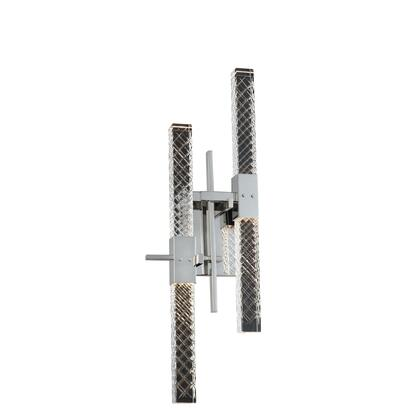 Apollo 034922-010-FR001 4-Light LED Wall Bracket in Chrome Finish with Firenze