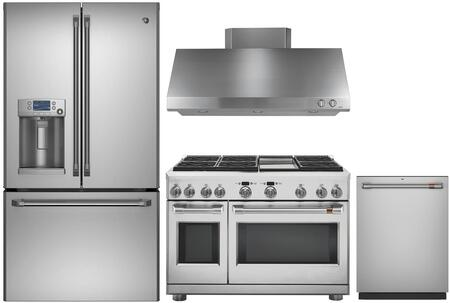 Cafe 1054655 Kitchen Appliance Package & Bundle Stainless Steel, main image