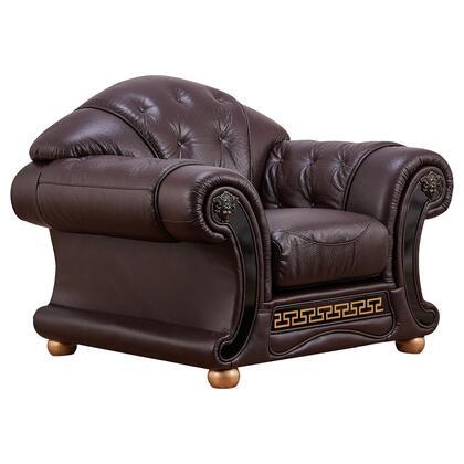 ESF Apolo APOLO1BROWN Living Room Chair Brown, APOLO1BROWN