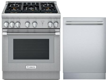 Thermador PRO HARMONY 1311254 Kitchen Appliance Package Stainless Steel, Main image