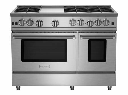 BlueStar RNB Series RNB486GV2 Freestanding Gas Range Stainless Steel, RNB486GV2 RNB Series Range