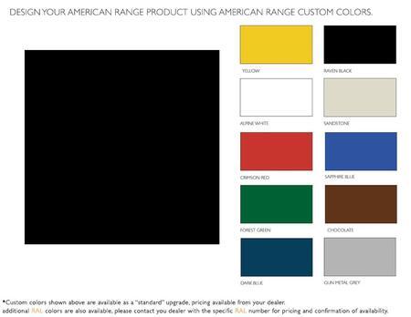 American Range  ARR60CKRB Color Option , 1