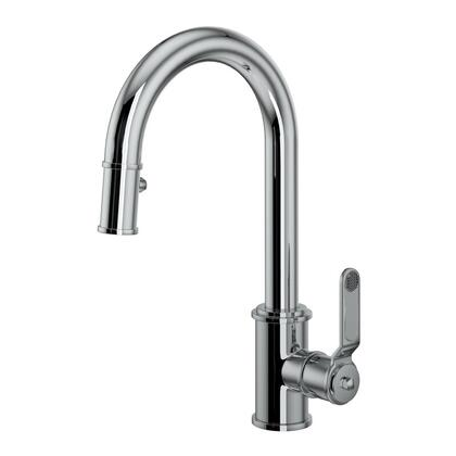 Rohl Armstrong U4543HTSTN2 Faucet, Armstrong+Pull+Down+Bar+Faucet