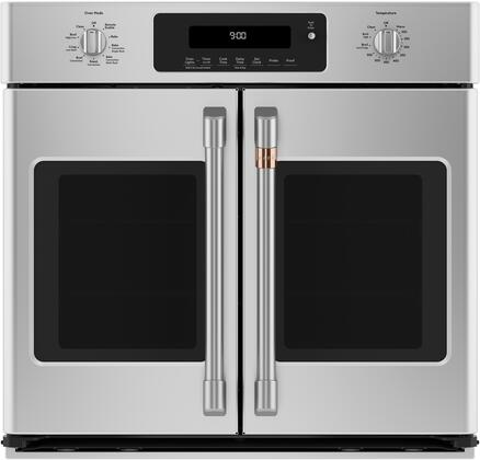 Cafe Matte Collection CTS90FP2MS1 Single Wall Oven Stainless Steel, Main Image