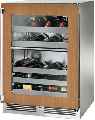 Perlick Signature HP24DS44R Wine Cooler 26-50 Bottles Panel Ready, Main Image