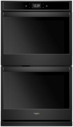 Whirlpool WOD77EC7HB Double Wall Oven Black, 1