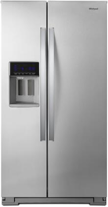 Whirlpool  WRS571CIHZ Side-By-Side Refrigerator Stainless Steel, Main Image