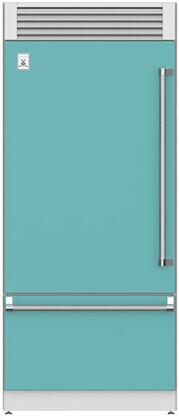 Hestan  KRPL36TQ Bottom Freezer Refrigerator Blue, Main Image
