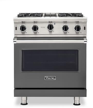 Viking 5 Series VGIC53024BDGLP Freestanding Gas Range Gray, VGIC53024BDGLP Gas Range