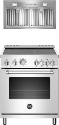 Bertazzoni  1000087 Kitchen Appliance Package Stainless Steel, main image