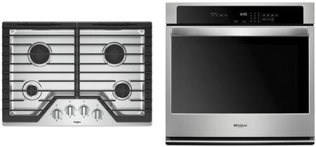 Whirlpool 1125720 Kitchen Appliance Package & Bundle Stainless Steel, main image
