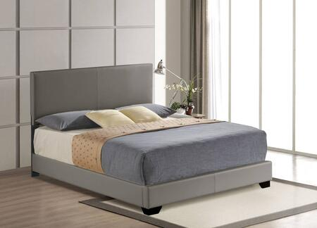 Acme Furniture Ireland 24320Q Bed Gray, 1