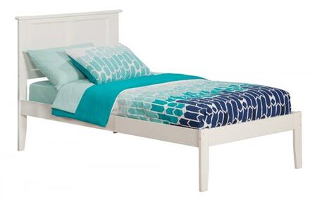 Atlantic Furniture Madison AR8611032 Bed White, AR8611032