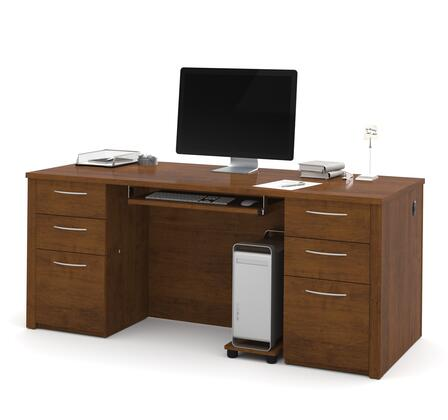 Bestar Furniture Embassy 6089063 Office Desk Brown, Main Image
