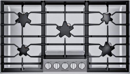 Thermador Masterpiece SGSXP365TS Gas Cooktop Stainless Steel, SGSXP365TS 36-Inch Pedestal Star Burner Gas Cooktop, ExtraLow