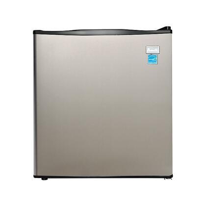 Avanti  AR17T3S Compact Refrigerator Stainless Steel, Main Image