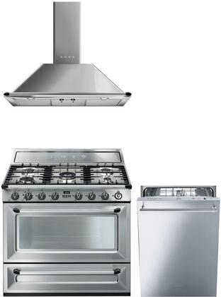 Smeg 1054500 Kitchen Appliance Package & Bundle Stainless Steel, main image