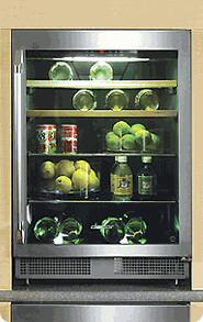Dacor Classic Epicure EF24RBCSS Wine Cooler 26-50 Bottles Stainless Steel, 1