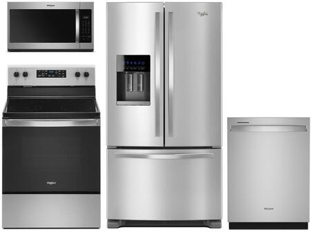 Whirlpool  902740 Kitchen Appliance Package Stainless Steel, Main Image